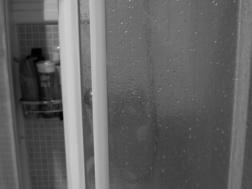 after shower..