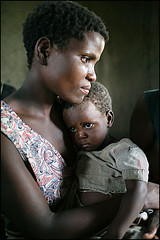 mother at school - Malawi (Maciej Dakowicz) Tags: poverty africa school people woman water canon education child poor mother help aid malawi 5d ngo literacy humanitarianism thehungerproject needmagazine