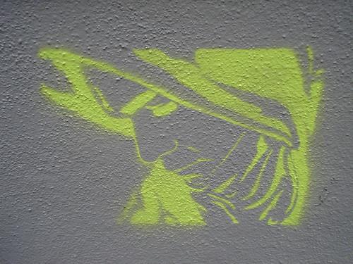 stencil madonna 1