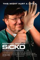 Póster y clip de 'Sicko', el regreso de Michael Moore