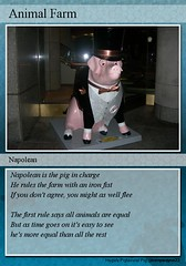Animal Farm: Napolean Trading Card