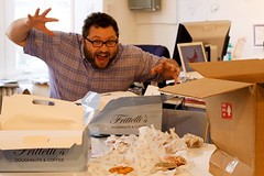 ADAM LIKES DA DONUTS (roboppy) Tags: adam donuts seriouseats frittellis