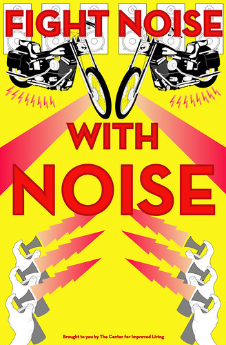 Fight Noise with Noise Poster