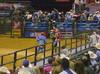 (.emily.) Tags: music dance cowboy funny dancing clown rodeo pbr bullriding bullrider paulocrimber flintrasmussen builtfordtoughseries