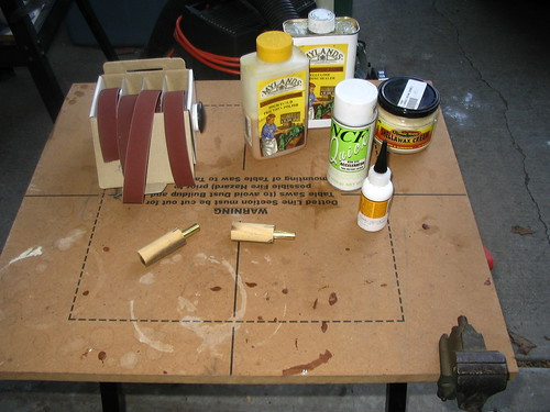 Glue and finishing supplies