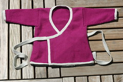 Finished baby kimono - by Spamily