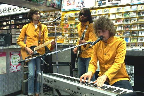 Brent Randall and His Pinecones live! in-store performance @ Music Trader on July 25 2007