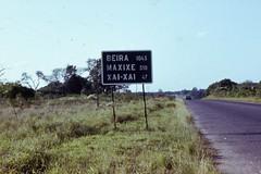 Entfernungen in Mosambik