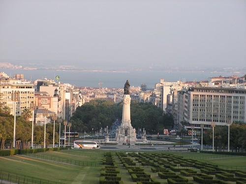 Praça Marquês de Pombal, Fotografía: Bruno Santos