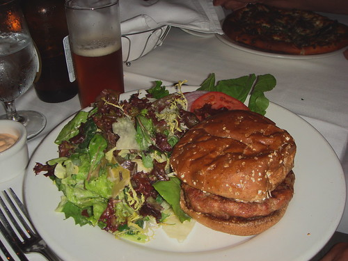 Hal's Turkey Burger