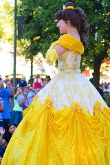 Disney Princess Belle (FrogMiller) Tags: california ca trip family vacation holiday fun princess bell disneyland disney tourists belle orangecounty anaheim oc themepark beautyandthebeast disneyprincess yellowdress disneylandresort paradeofdreams castmember disneyparade disneylandparade