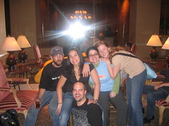 Pat Sexy, Rebecca Kelley, Scott orth, Tamar Weinberg (and a cool shirt), Rhea Drysdale - SES San Jose 2007