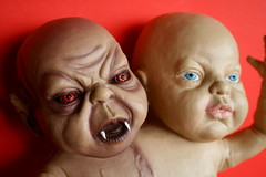 Two Headed Baby, Detail - by zoomar