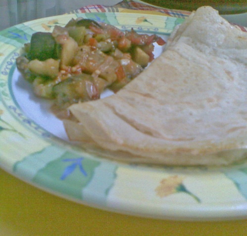 Ratatouille with Dosa