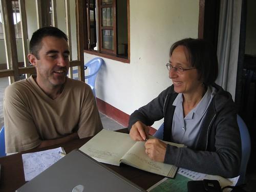 terese and Ashley in Kisangani