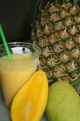 """It looks so good i had to drink it!"" (Keith Kerr - Currently in United Kingdom) Tags: fruit drink juice pineapple mango aclass naturesfinest impressedbeauty amazingshots superbmasterpiece brillianteyejewel coolestphotographers"
