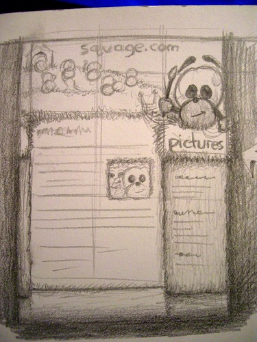 Squage.com Site Redesign Sketch!