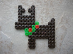 Perler Bead Reindeer (Kid's Birthday Parties) Tags: christmas reindeer beads rudolph perlerbeads