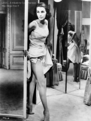 cyd charisse20 (Glamour Daze) Tags: people paris beauty fashion vintage glamour women legs dancer lingerie retro 1940s hollywood 1950s actress stunning hosiery fishnets females swimsuit performer burlesque siren pinup daze girdle outerwear cydcharisse