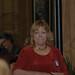Board Member Shari Walters listens to Denise Hamilton