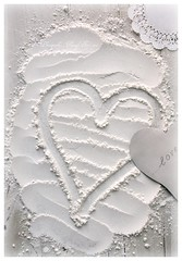 Baking Love (Iro {Ivy style33}) Tags: texture love hearts flour whiteonwhite mydaytoday creamytones whitetones domesticcharm photographythroughivyseyes thebasicingredient bakinglove