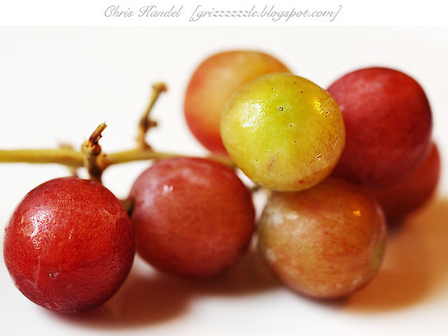 Grapes from Side