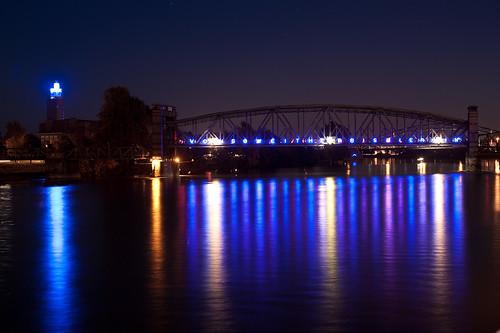 Elbe bei Nacht 4