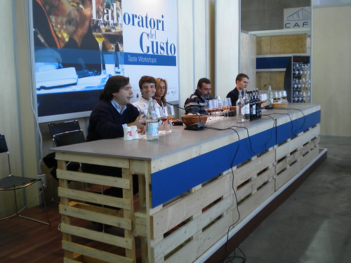 Port Wine in the Salone del Gusto - Slow Food conference