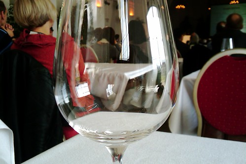 There're still empty glasses at the #EWBC...