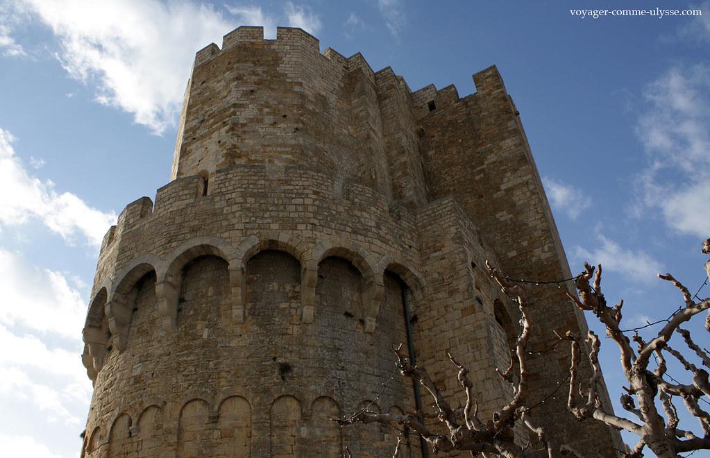 Cette église était une authentique forteresse