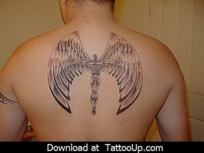 free printable angel tattoo designs by angeltattoo