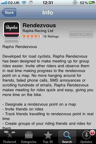 Rapha Rendezvous
