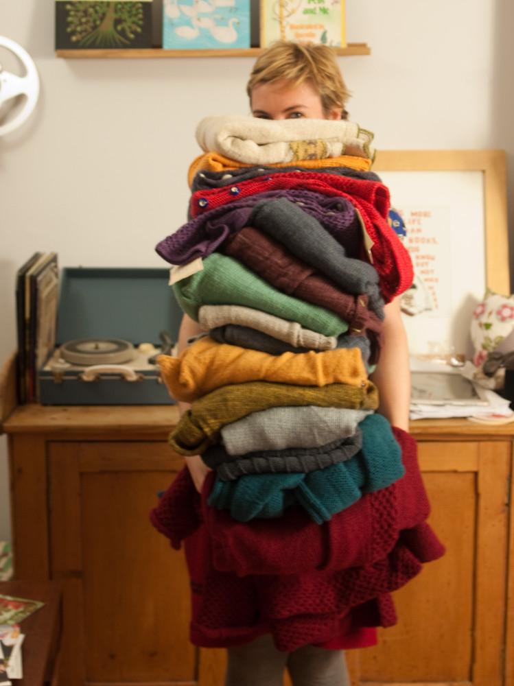 so many sweaters