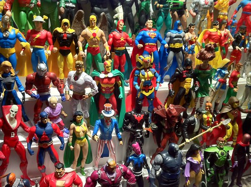 Lots of...action figures.
