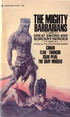 The Mighty Barbarians (micky the pixel) Tags: sf buch paperback scifi sciencefiction conan elak robertehoward henrykuttner fritzleiber taschenbuch thongor lincarter lspraguedecamp zukunttsroman themightybarbarians suarpeial thegraymouser