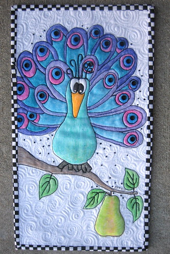 A Peacock in a Pear Tree