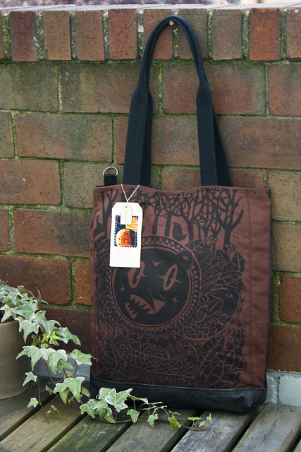 indestructible life tote (collaboration with tim gough and greg pizzoli)