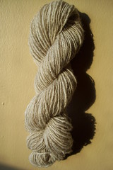 skein of homespun yarn