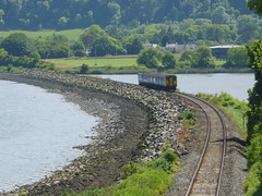 The Larne Line (Garibaldi McFlurry) Tags: bridge station train coast tracks railway northernireland translink glynn digest ulster nir countyantrim larne northernirelandrailways
