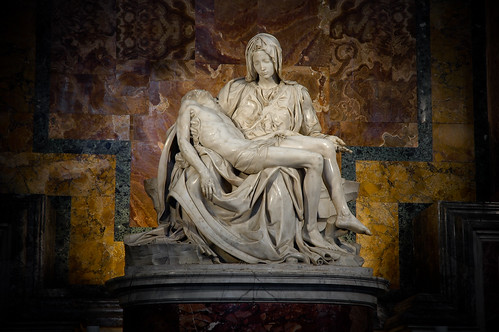 Chapel of the Pieta, St Peters Basilica by Ioja, on Flickr
