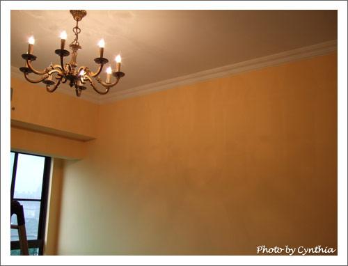 客廳主燈-倒影1