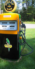 Polly Gas (catchesthelight) Tags: old 1920s signs color vintage advertising 1930s colorful bright vivid whitemountains nh gas 1940s 1950s signage 1960s 1970s 1910s bethlehem 20thcentury 1980s gaspump 1900s littleton petroleum gaspumps northcountry itsmulticolored petroliana
