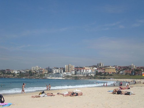 Playa Bondi en Sydney