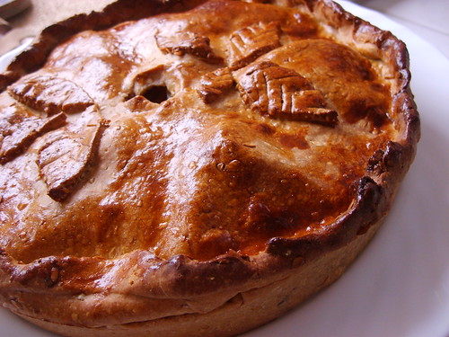 Onion And Apple Pie