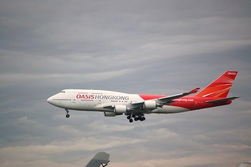Oasis Hong Kong - Boeing 747-400