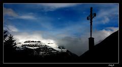 Valle de Hecho (EddyB) Tags: espaa mountain landscape spain nikon europa europe d70s paisaje cruz duotone montaa breathtaking pirineo blueribbonwinner eddyb ltytr1 trabajarconphotoshop