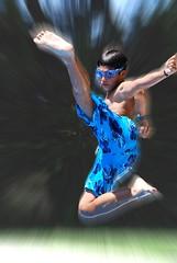 Bandai !! Jumping experiment (part II)