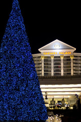 Caesars Palace Christmas Tree