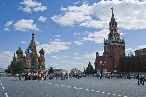הכיכר האדומה, מוסקבה, רוסיה