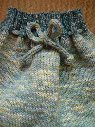 Seafoam pantaloonies - front